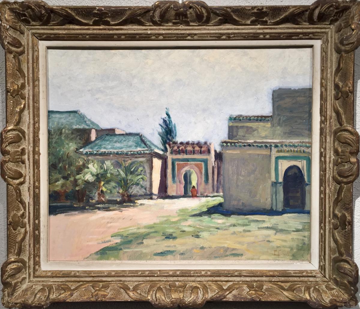 Fes - Gardens Boujeloud L Final - Early Twentieth