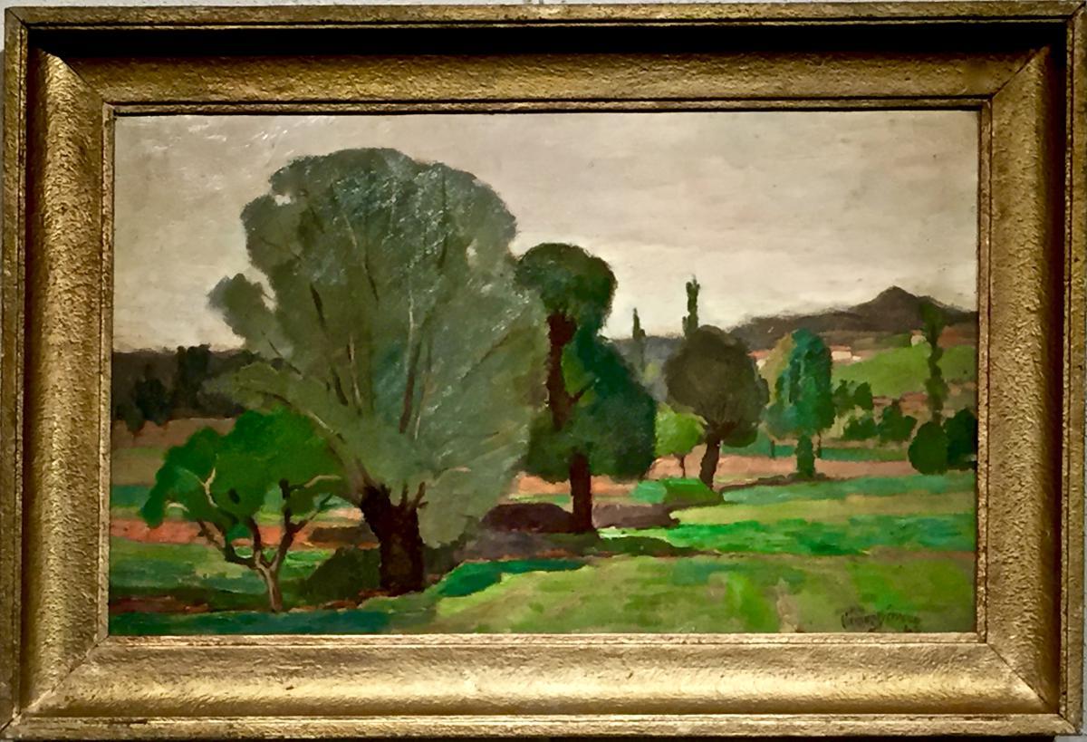 Clement Serveau - Les Jardins De Montegu 1942