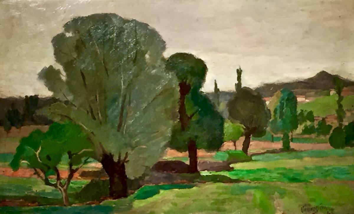 Clement Serveau - Les Jardins De Montegu 1942-photo-2