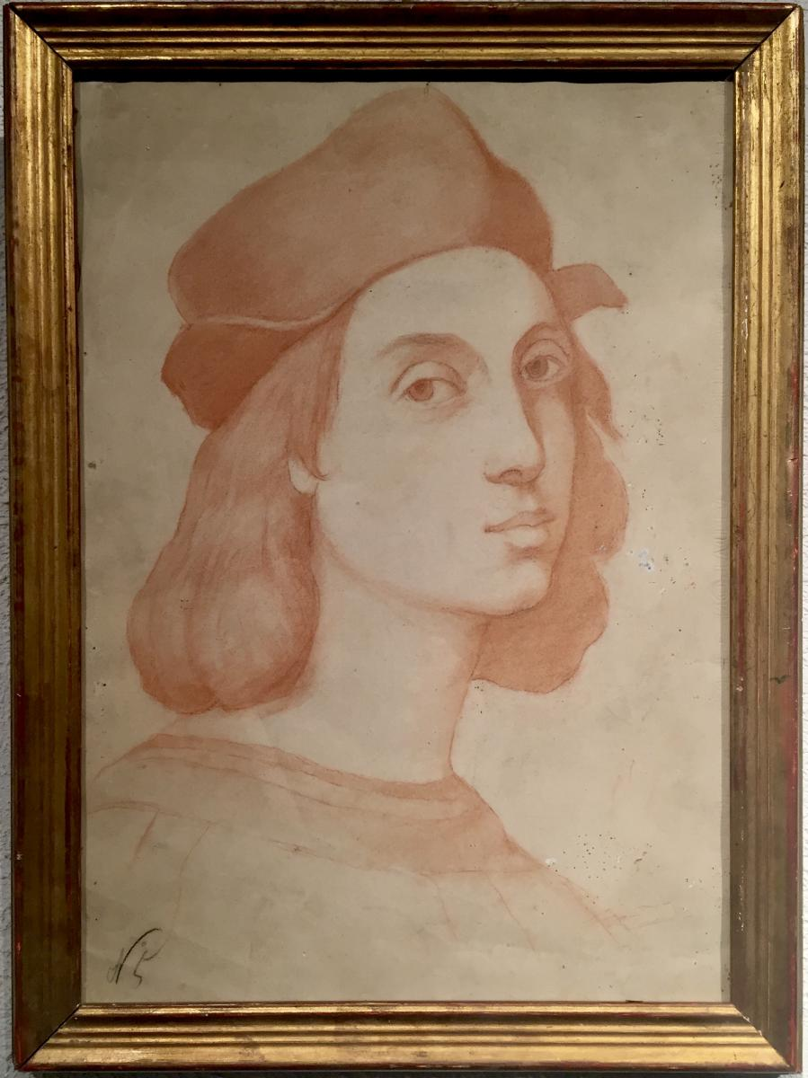 Raphael - Self Portrait From Table 1506 -