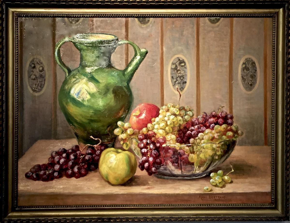 Anne BERTRAND - Ecole Lyonnaise - Composition de FRUITS