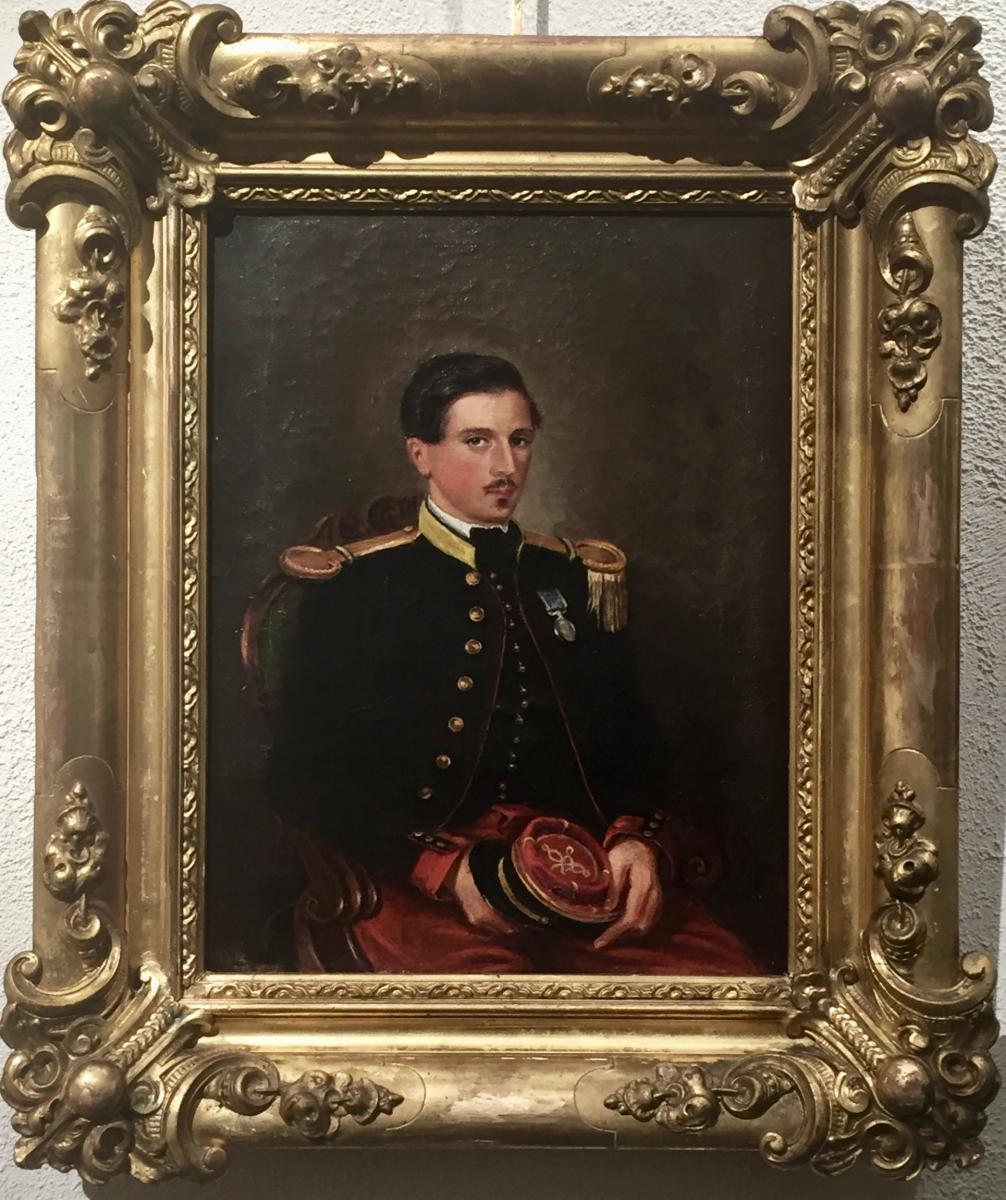 1856 Marie Alexis THOMAS Lieutenant par Agläé de ROSEMONT (1805-1863)