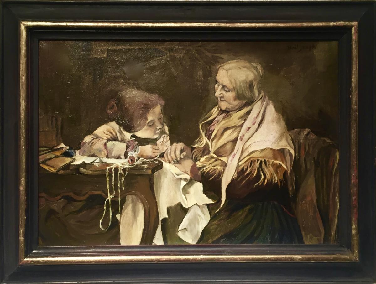 Joseph BAIL (1862-1921) - La COUTURE