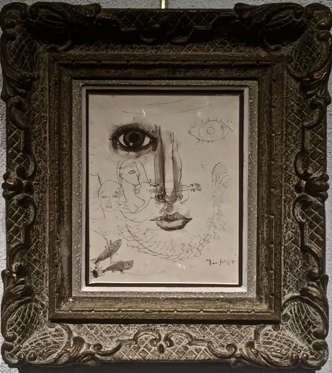 Dan SOLOJOFF (1908-1994) - Surréaliste néo-primitiviste