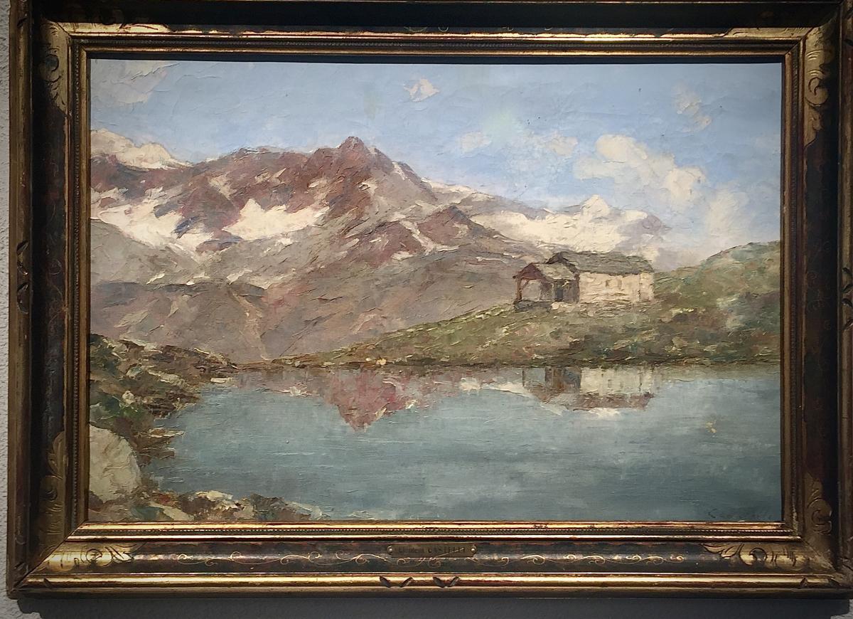 Zermatt 1938 - Clement Castelli (1870-1959)