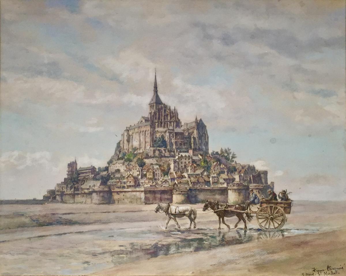 Le MONT St MICHEL - Pierre-Marie Alfred CHAPUIS (1863-1942)
