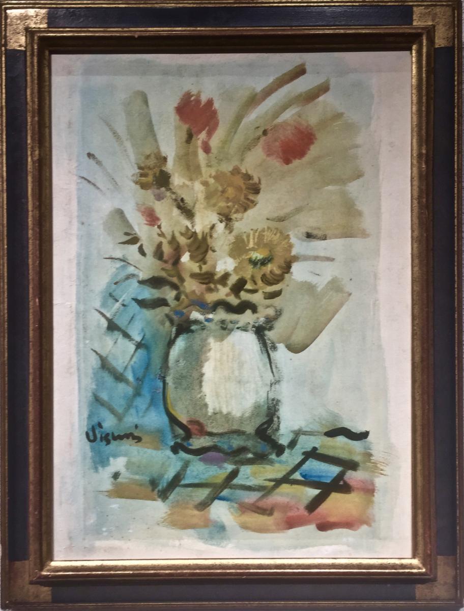 Flower Composition - Sylvain Vigny (1903-1970)