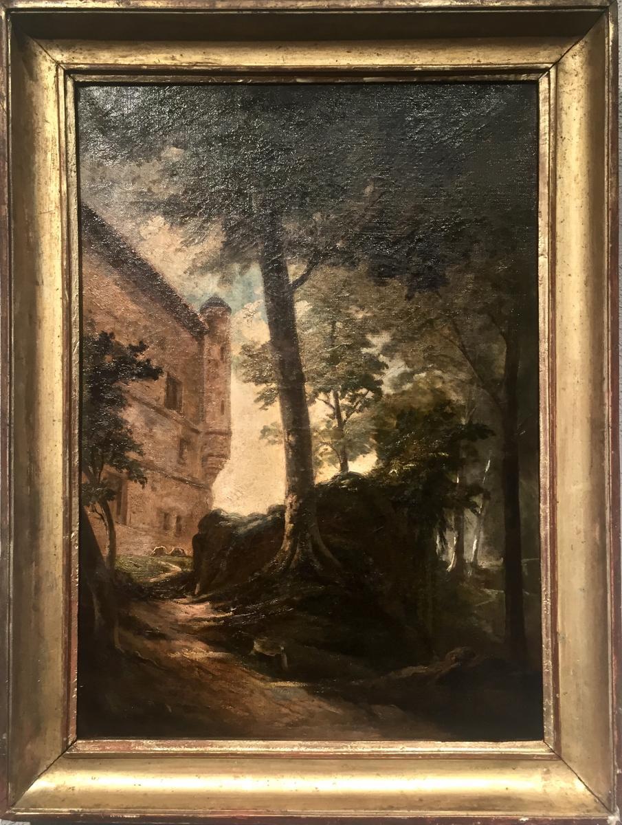 Jean Michel GROBON (1770-1853) - Le Château de BOURDEAU ?