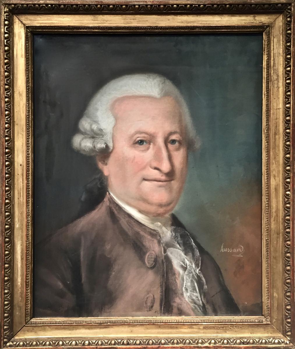 Michel Nicolas HUSSARD (1749-1827) - PORTRAIT XVIIIème