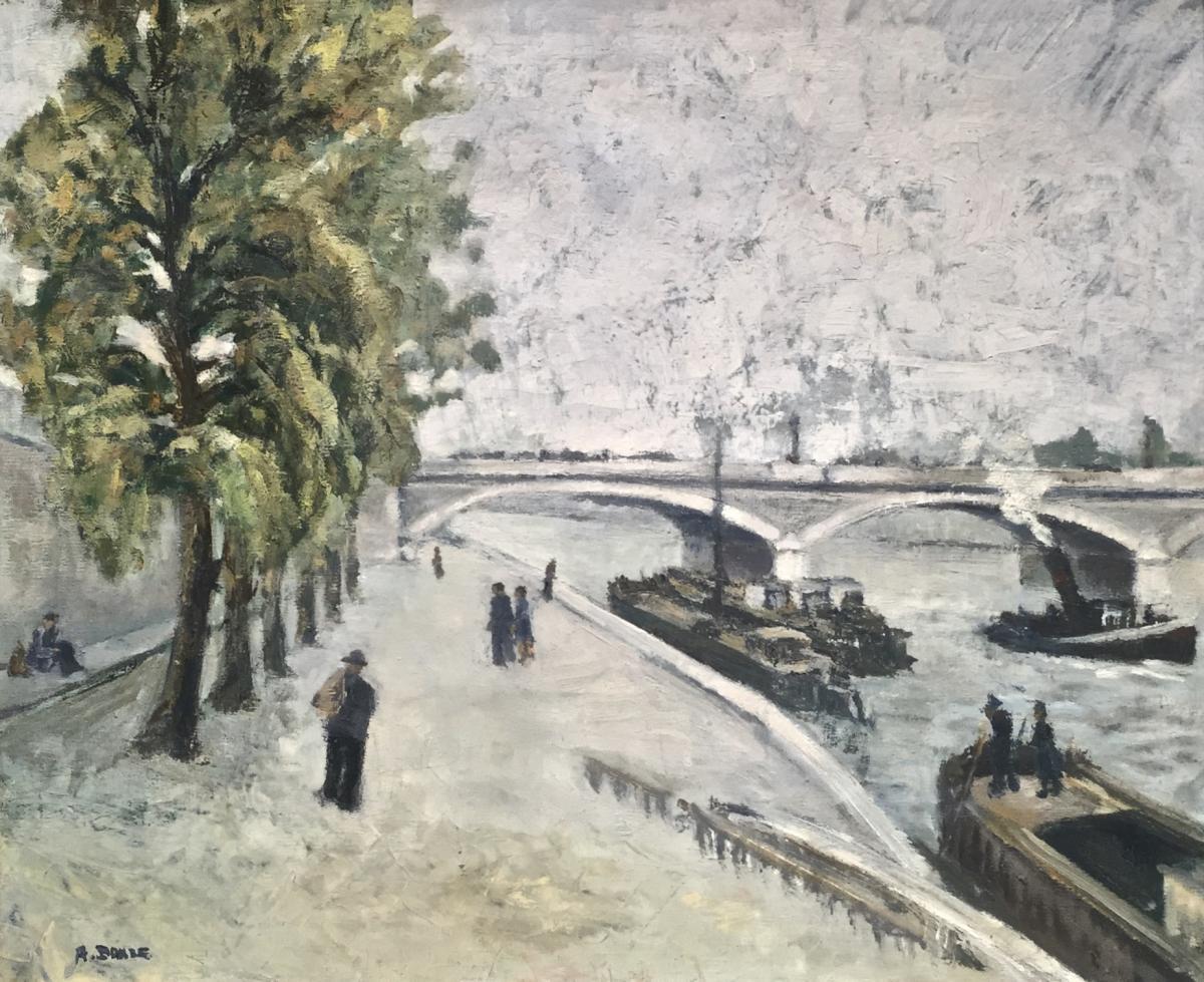 Paris - Austerlitz Bridge - Signature Not Read