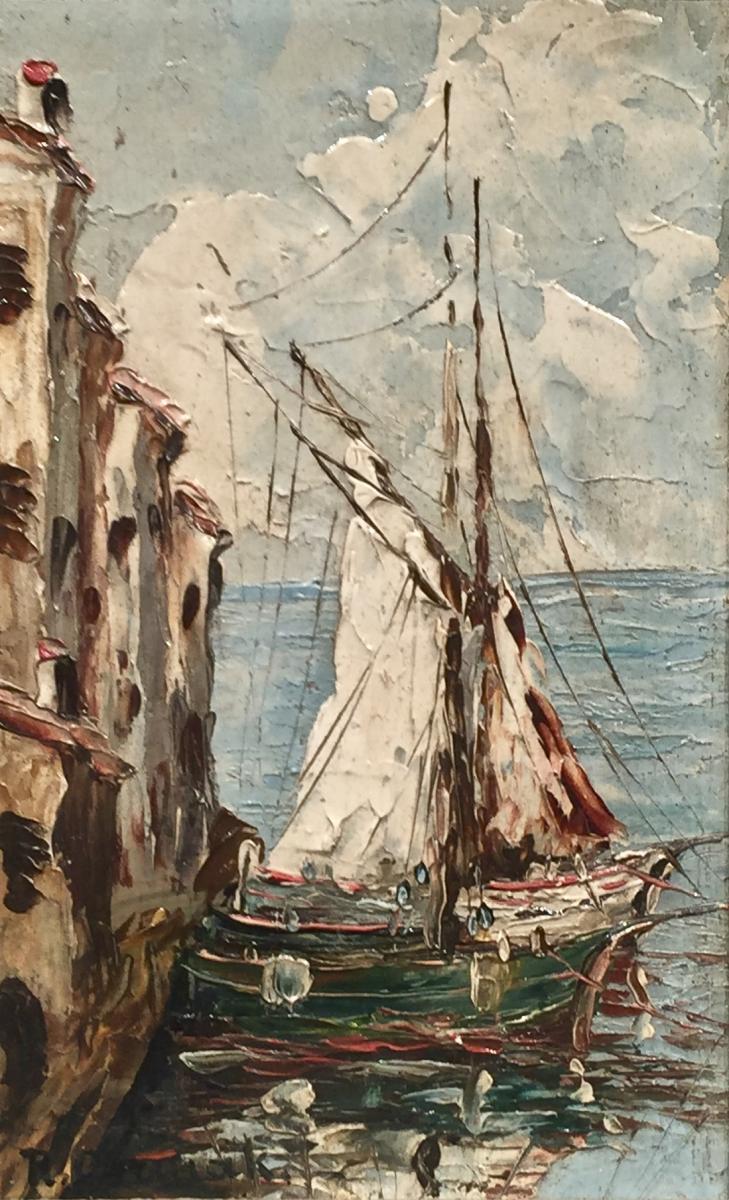 Les MARTIGUES - Rudolf CERMAK (1883-1947)