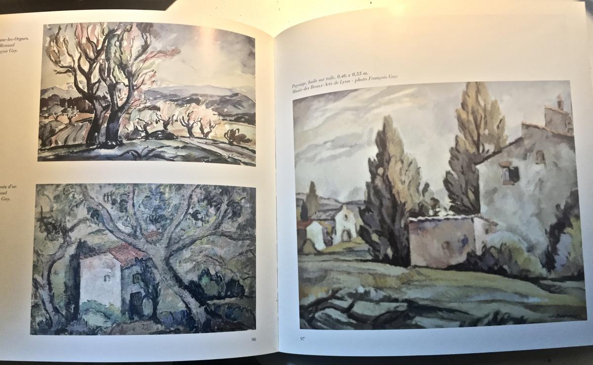 Venance CURNIER(1885-1971) - Ferme dans les Monts du Lyonnais-photo-5