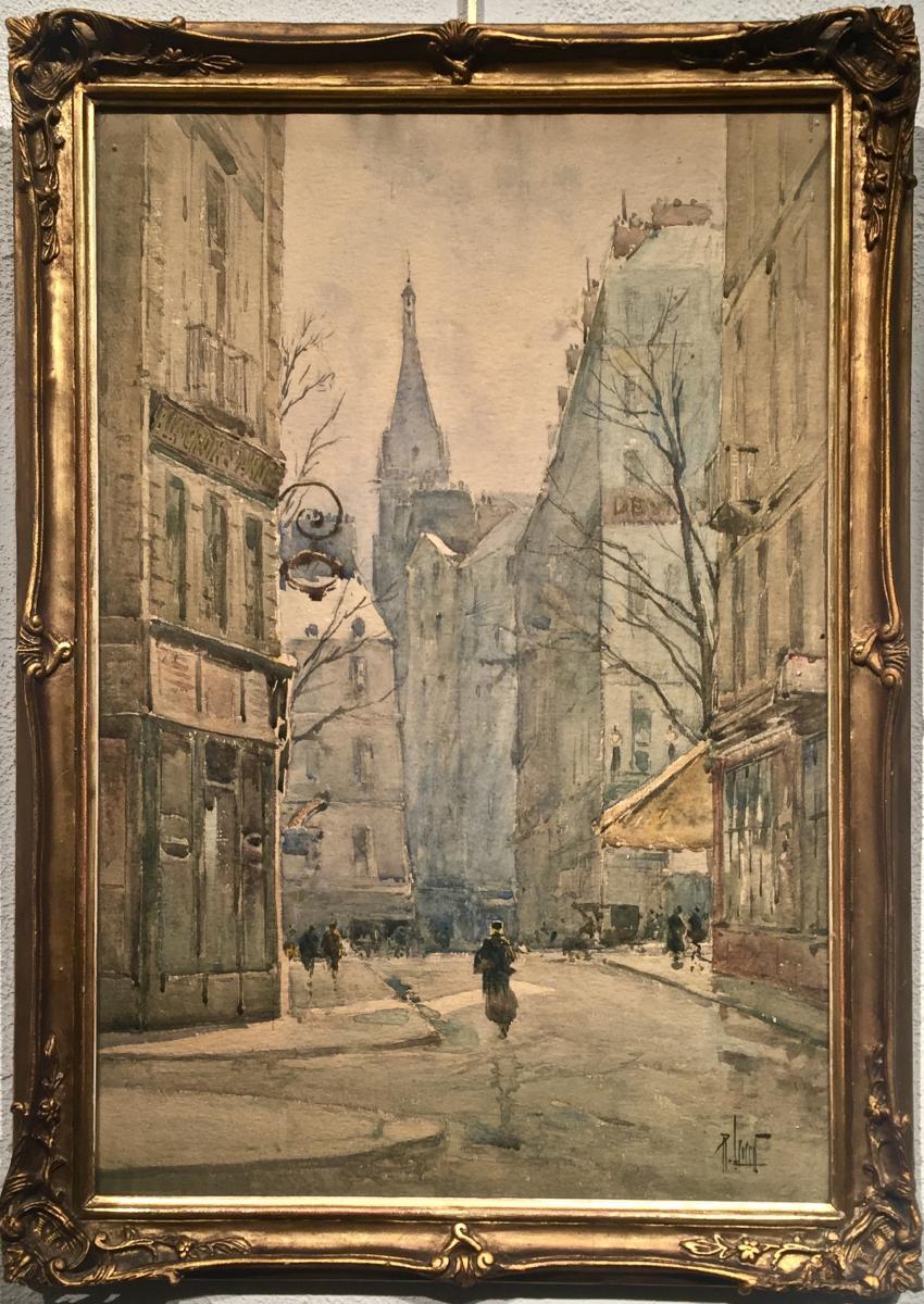 St. Sevrin - Paris 1900 - René Leverd (1830-1938)