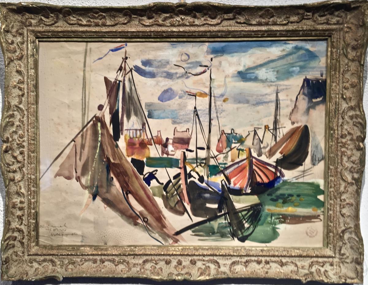 Ludwik Klimek (1912-1992) - Hoorn Near Amsterdam