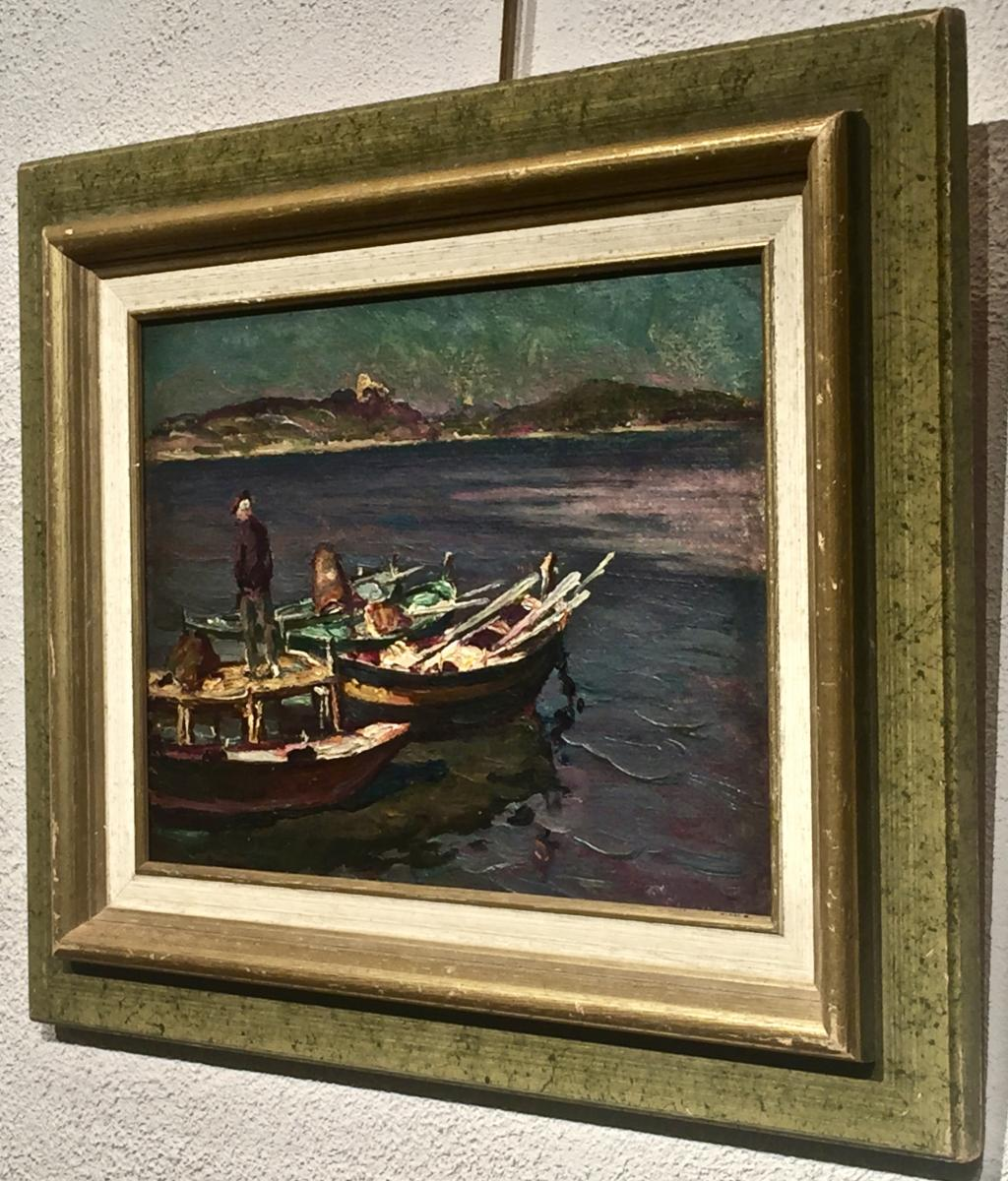 The Brusc Sur Mer 1931 - Henri Fontaine (1887-1956)-photo-3