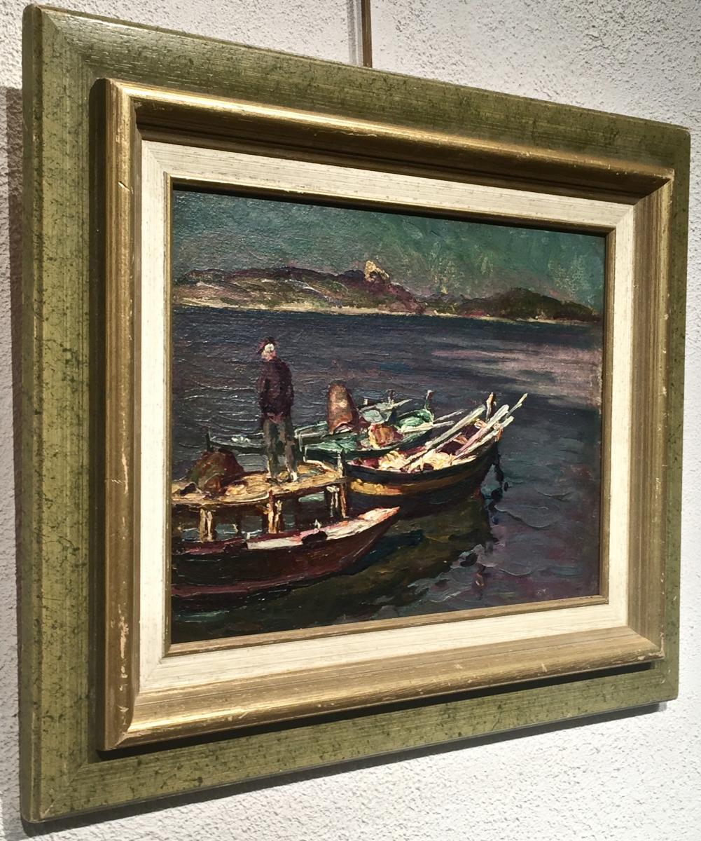 The Brusc Sur Mer 1931 - Henri Fontaine (1887-1956)-photo-4