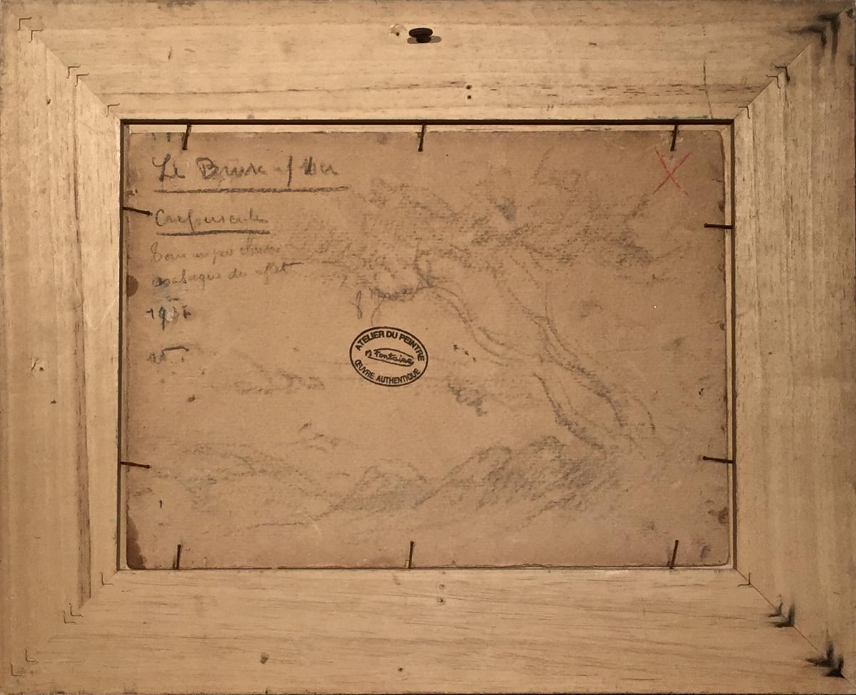 The Brusc Sur Mer 1931 - Henri Fontaine (1887-1956)-photo-1
