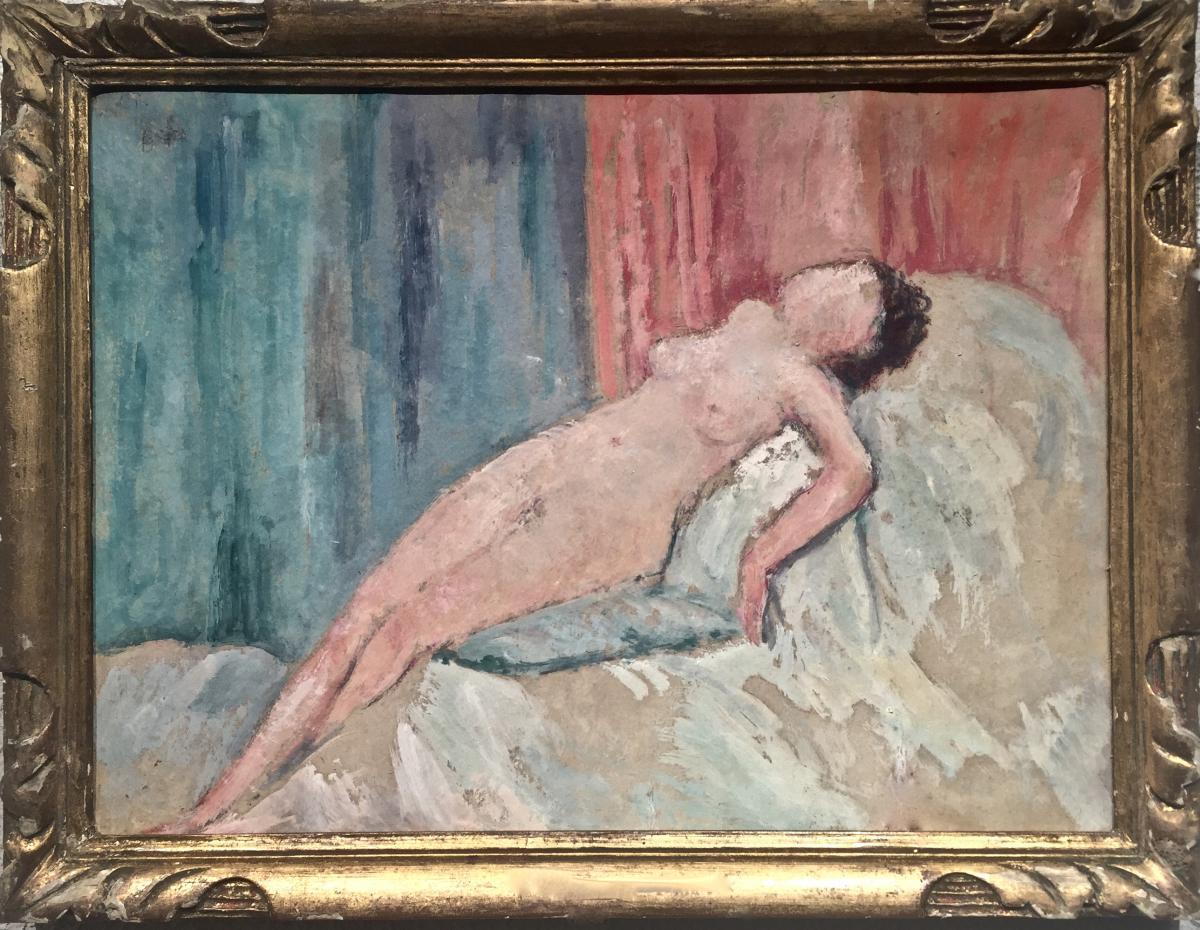 ETUDE de NU - Georges AUFRAY (1864-1941)