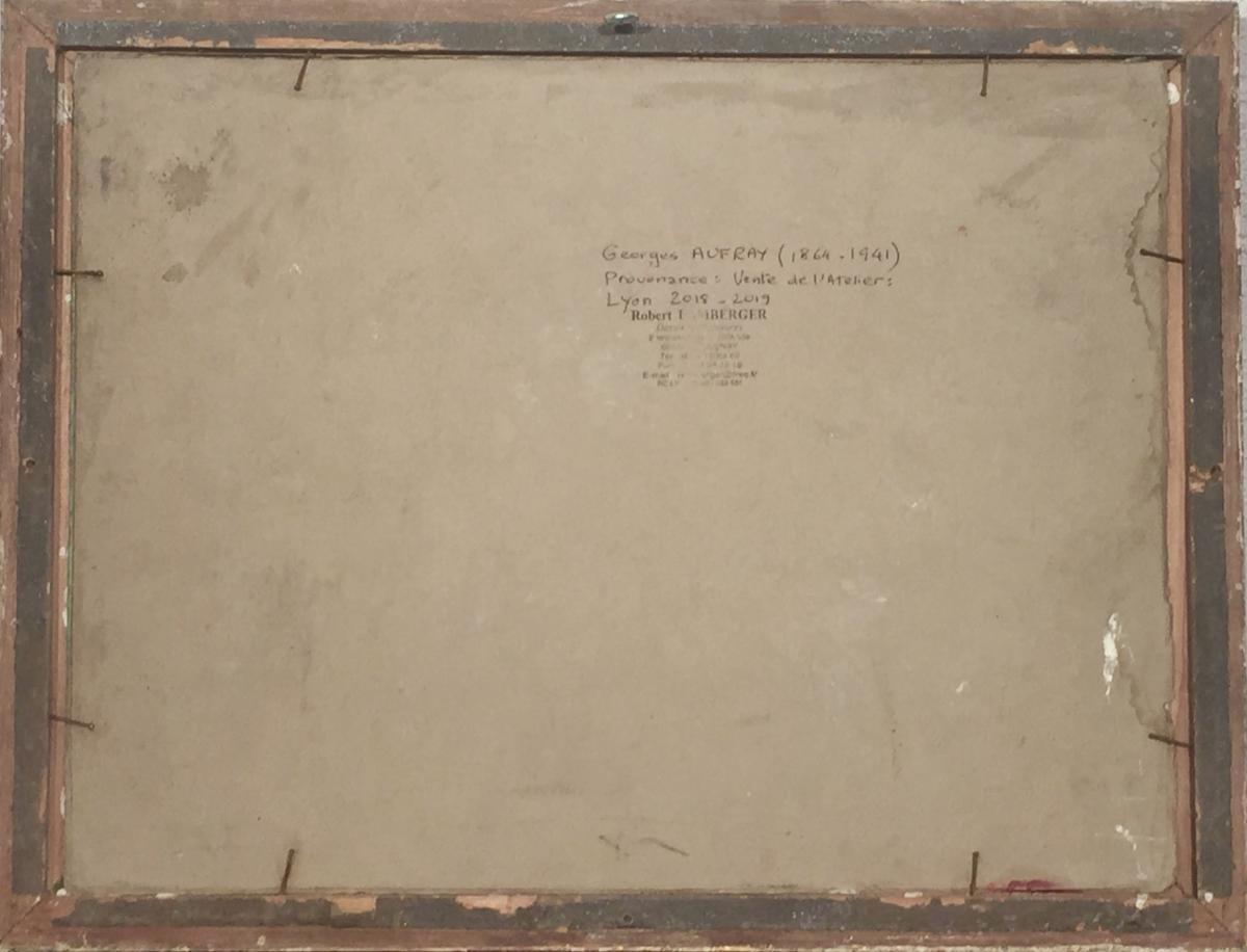 ETUDE de NU - Georges AUFRAY (1864-1941)-photo-1