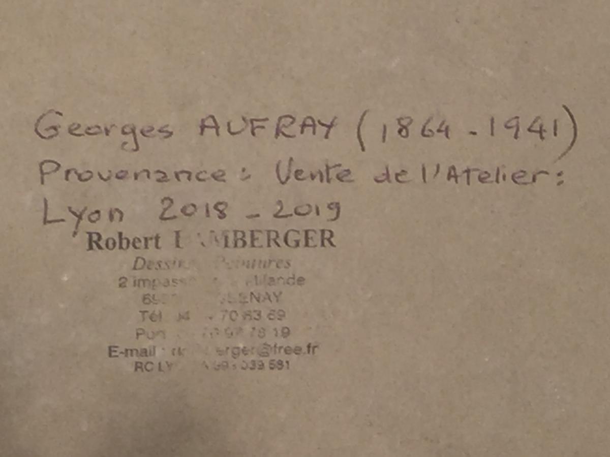 ETUDE de NU - Georges AUFRAY (1864-1941)-photo-2