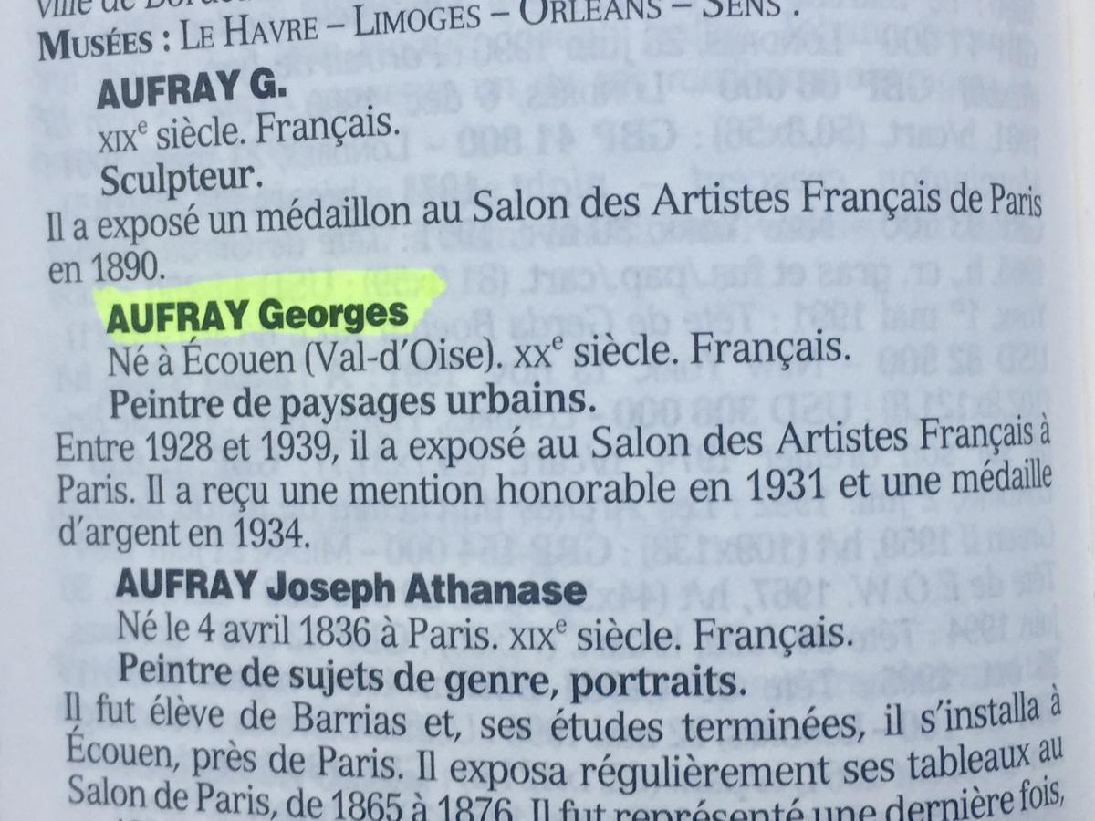 ETUDE de NU - Georges AUFRAY (1864-1941)-photo-3