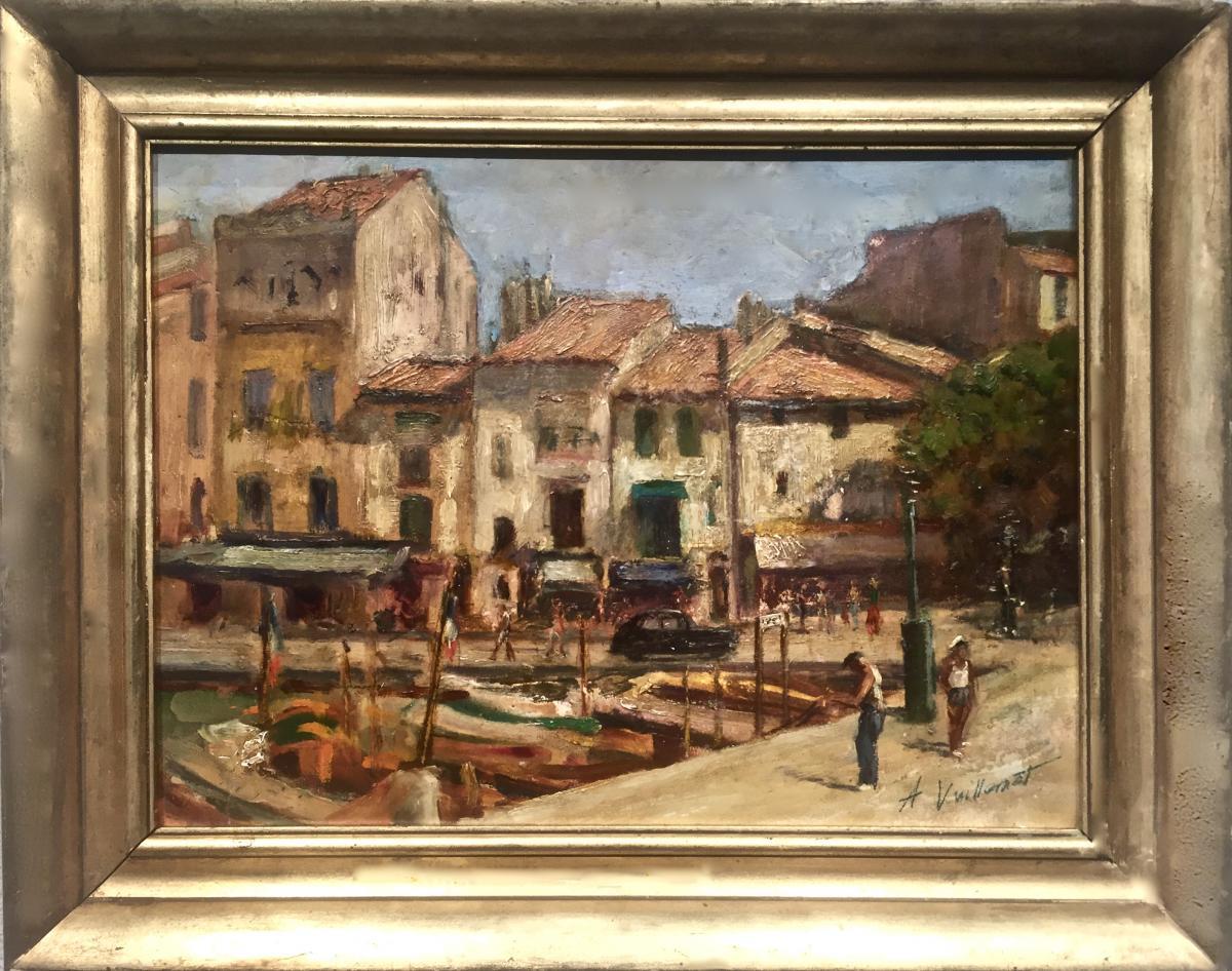 CASSIS 1935 - Auguste VUILLEMOT (1883-1970)