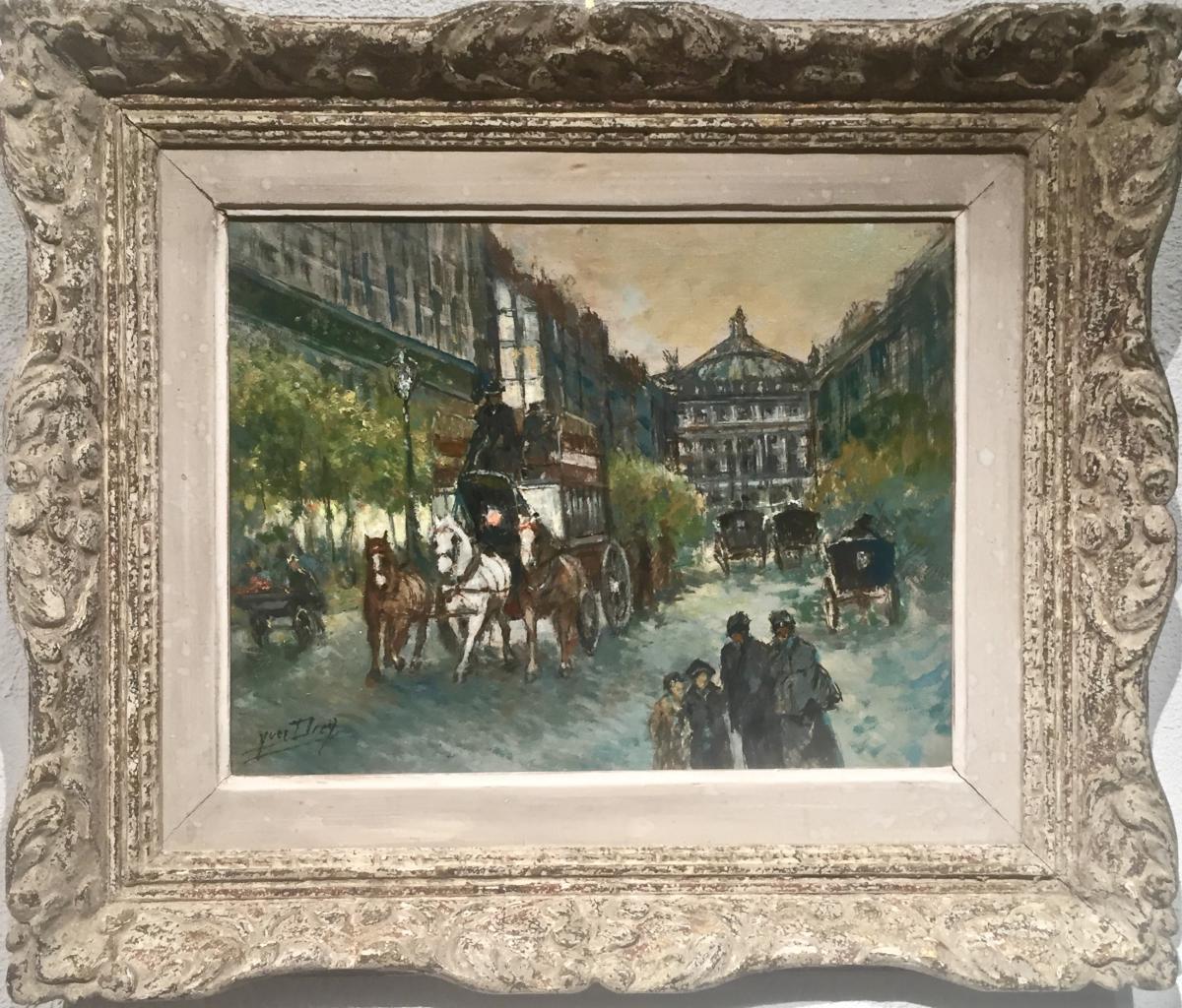 PARIS OPERA - Yves DIEY (1892-1984)
