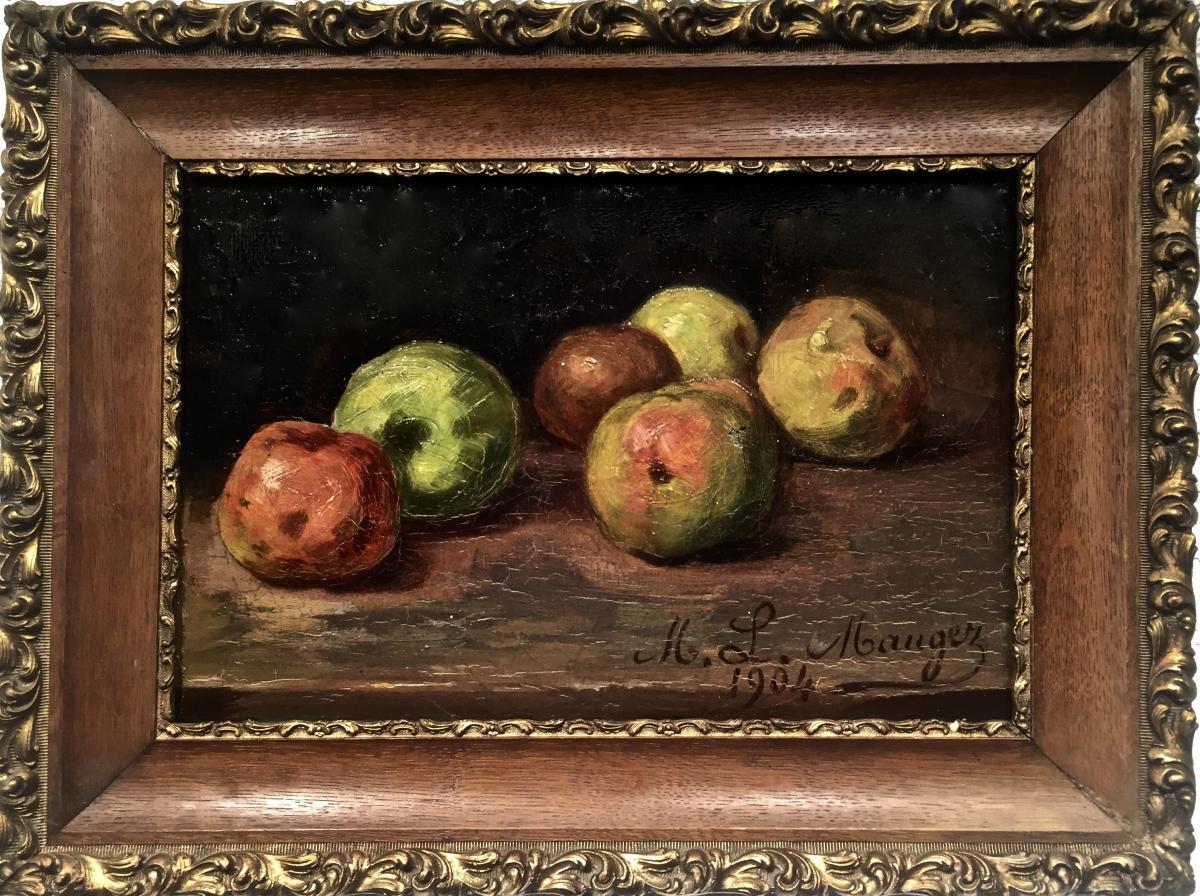 Pommes - M. L. Maugez 1904