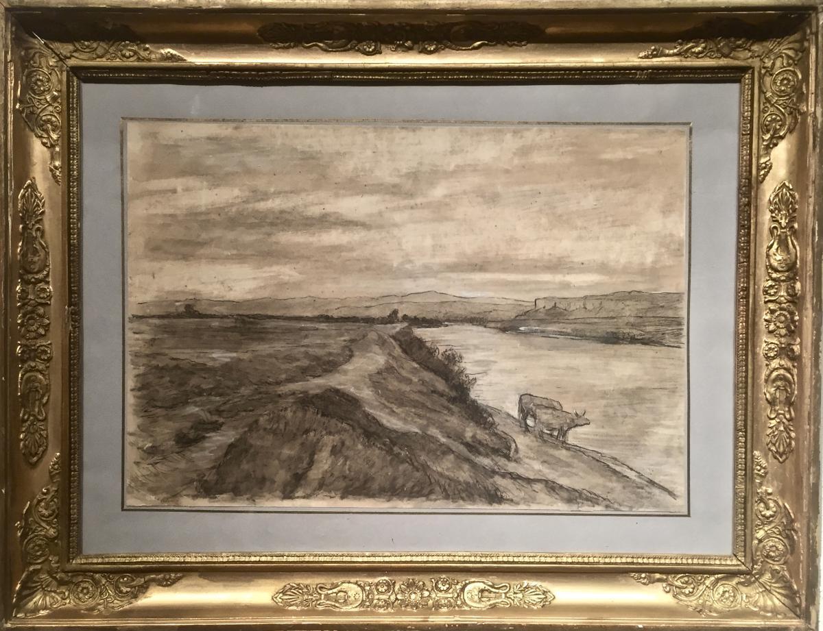 Joseph Trevoux (1831-1909) - The Rhone