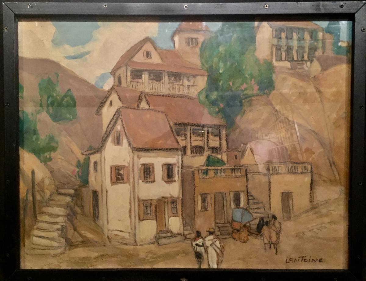 Fernand LANTOINE (1876-1953) - GARDIEN de ZEBUS-photo-4