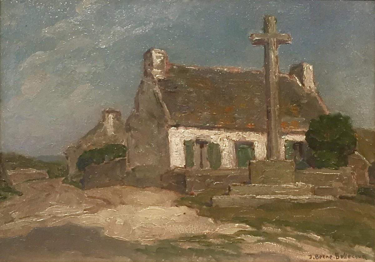 Breton Calvary - Jean Jacques Berne-bellecour (1874-1939)