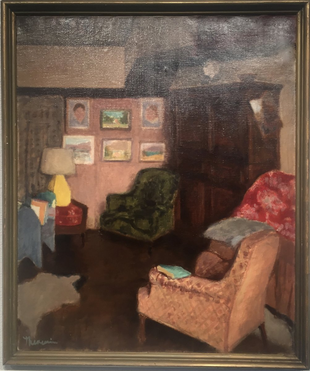 APPARTEMENT du PEINTRE - Pierre THEVENIN (1905-1950)