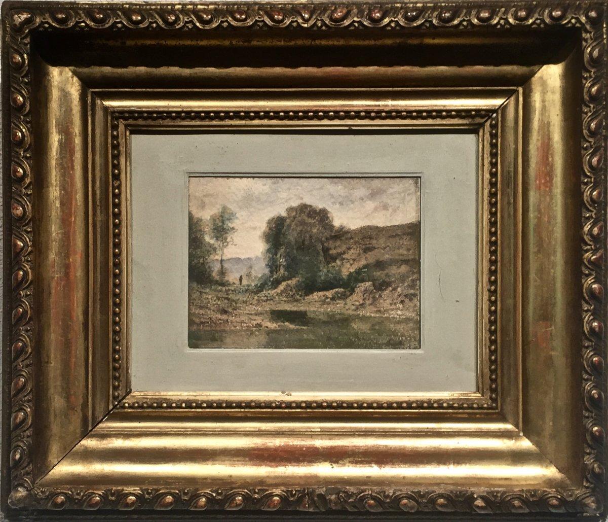 Source Of Albarine - Horace Antoine Fonville (1832-1914)