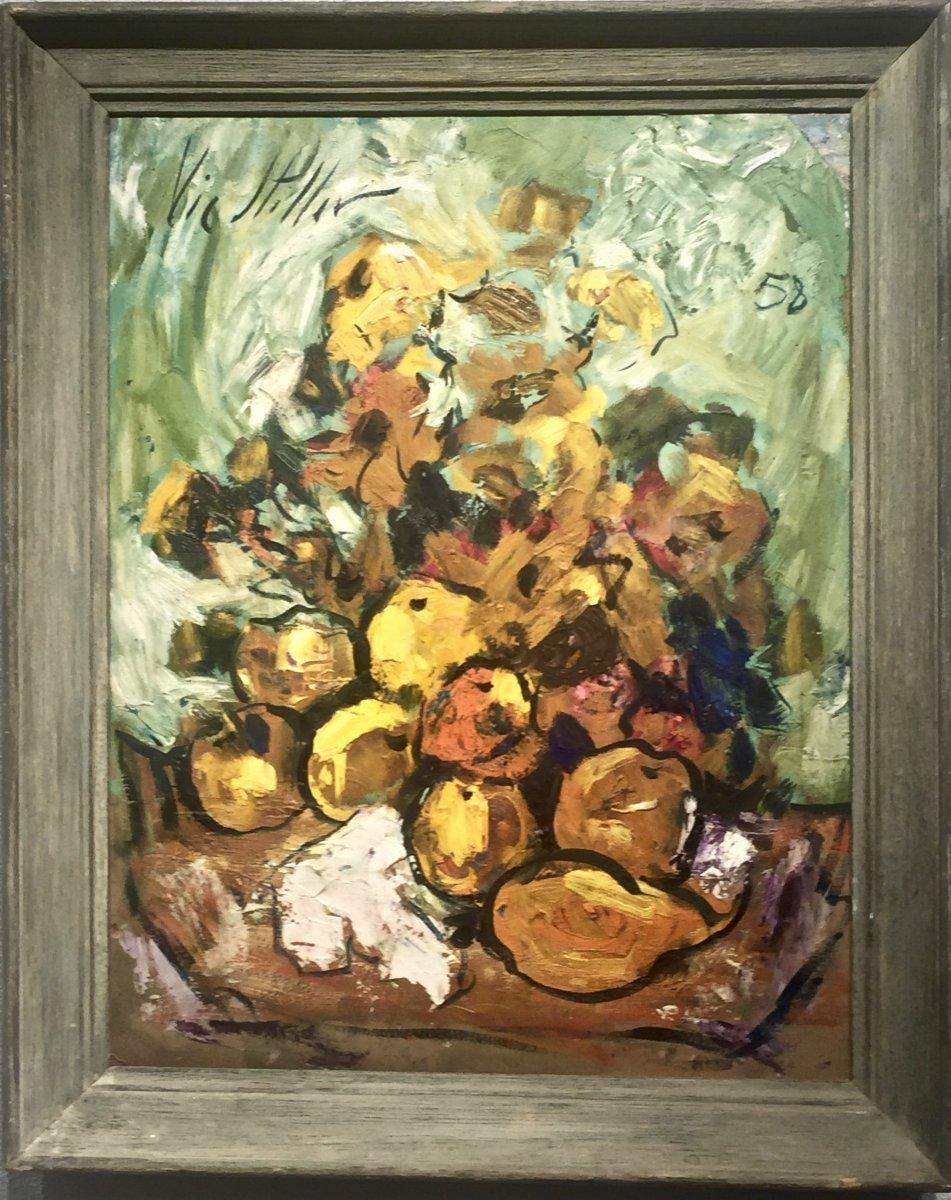 Vic Stiller (1902-1974) - Flowers And Fruit