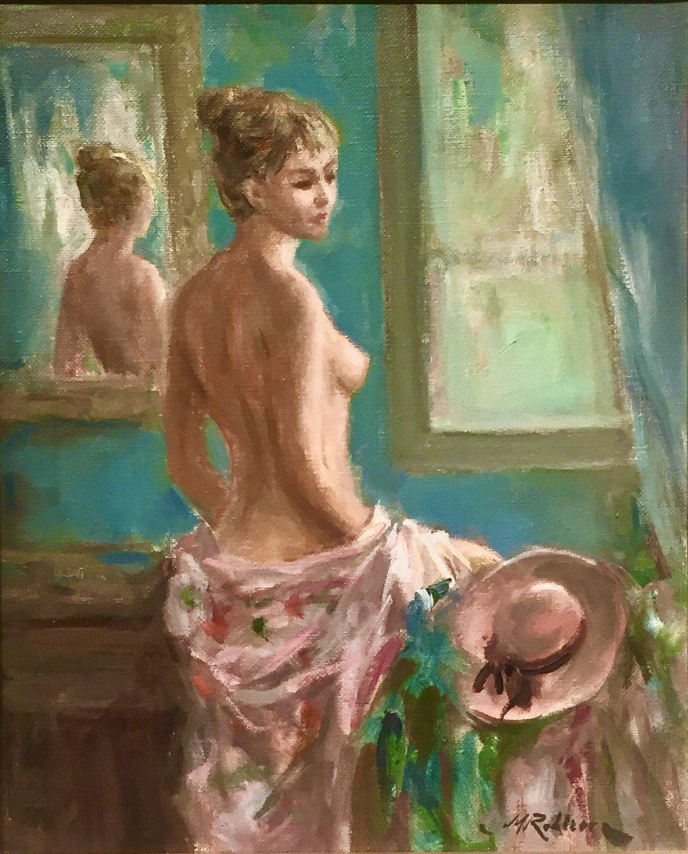 Marc REBIERRE (né en 1934) - Elégance, de l'habit à la nudité