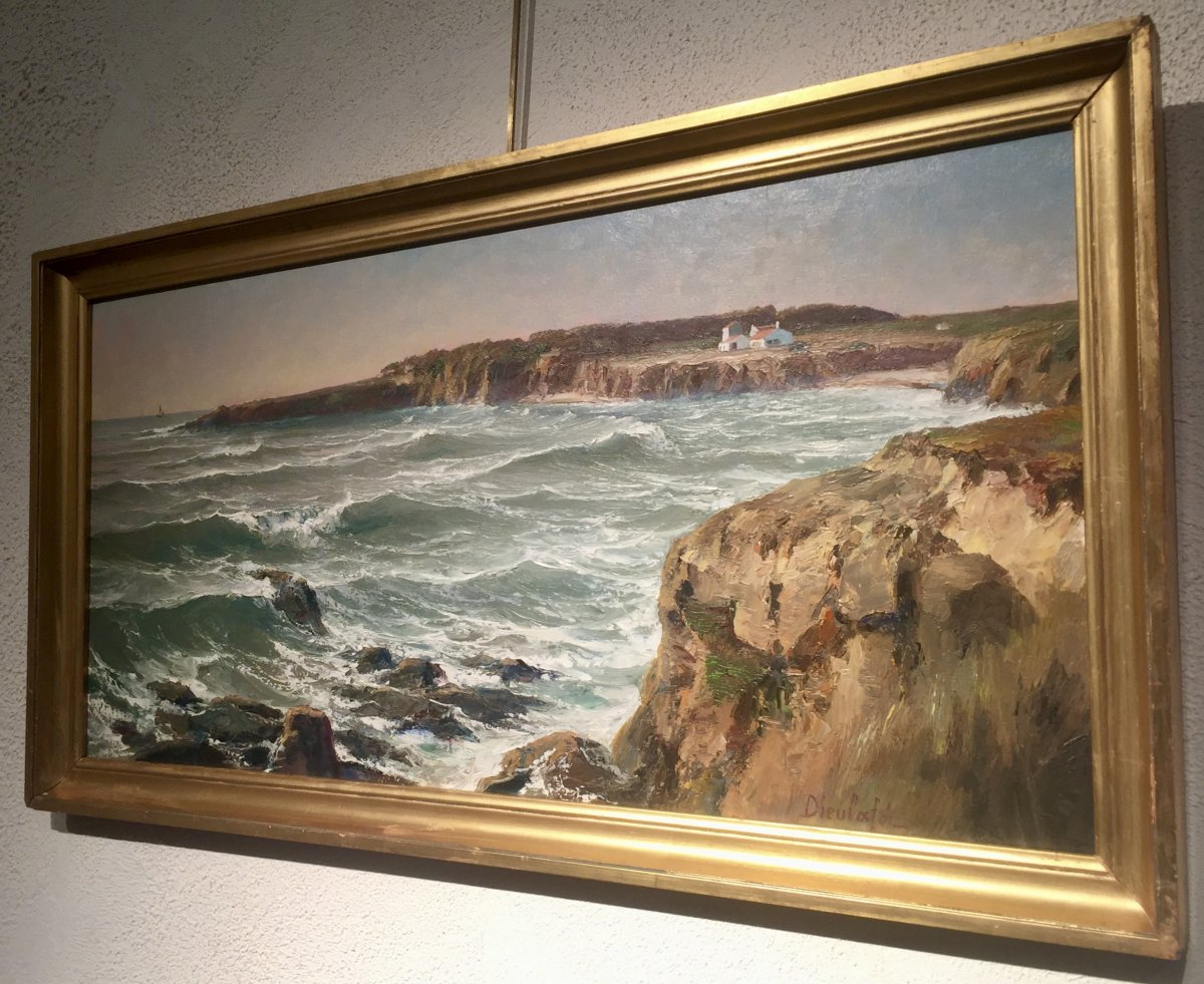 La Baie de CAYOLA - Yvon DIEULAFE (1903-1990)