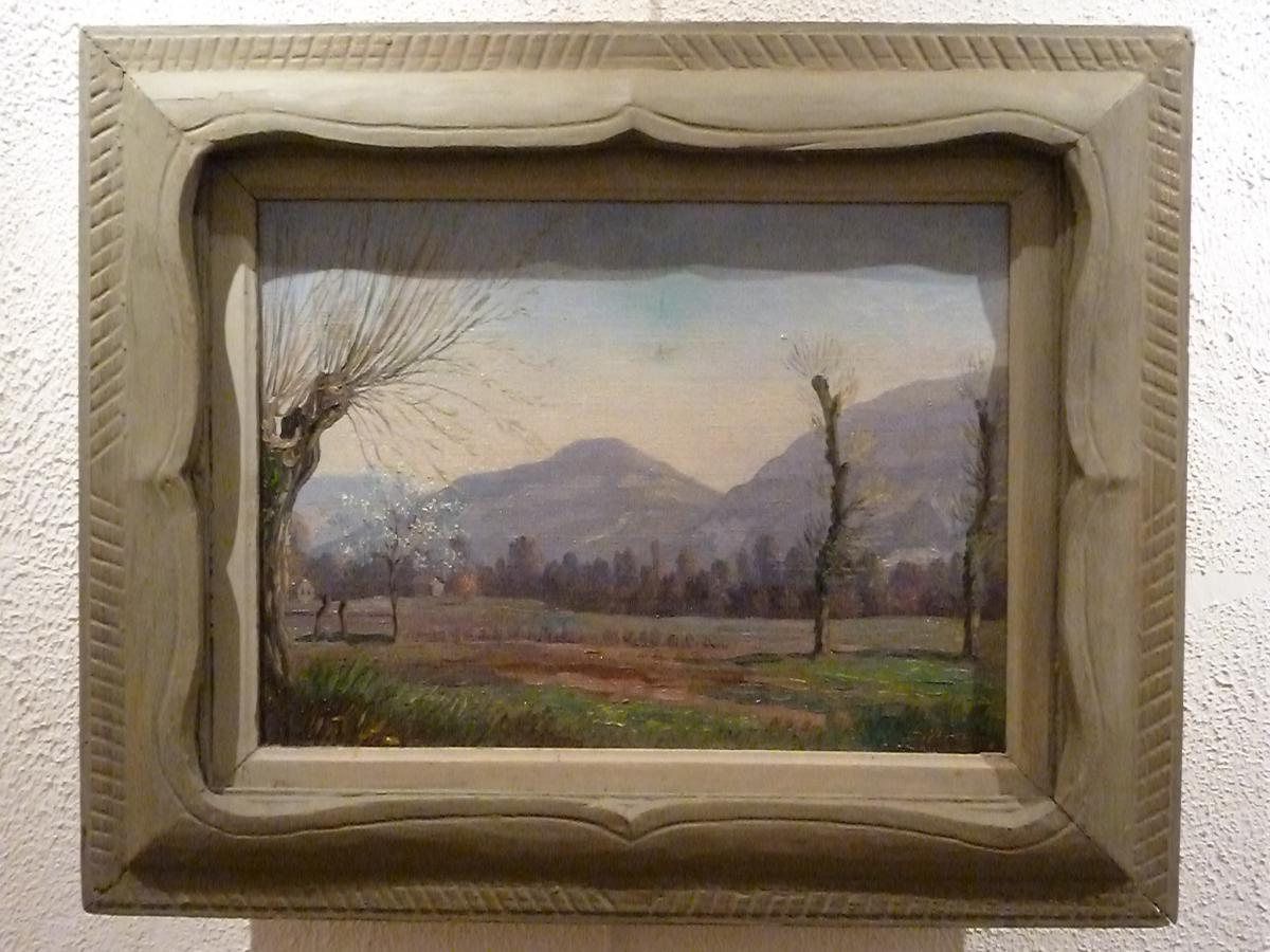 Paysage du Valley par E.P. ULLMANN ( Ecole Américaine)
