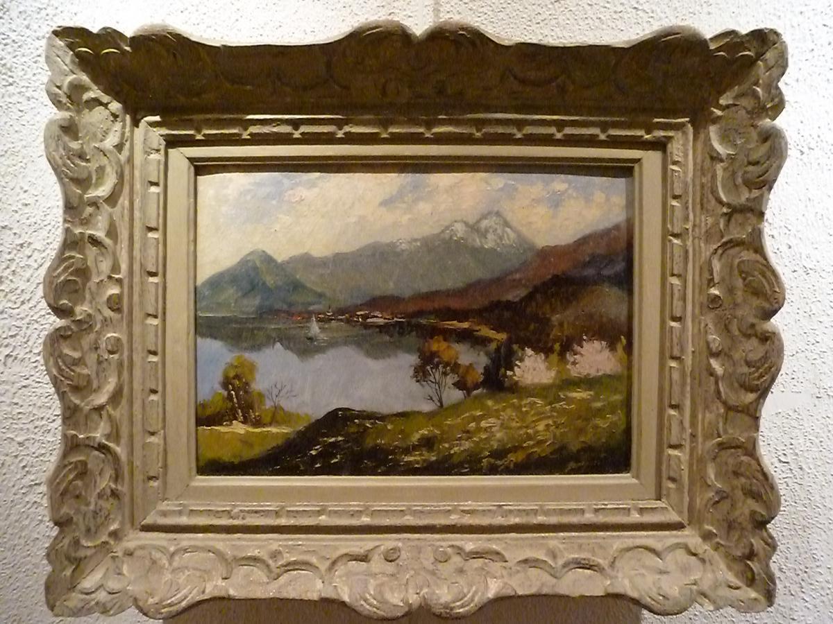 Lake Thun By The Numa Donze (ecole Suisse)