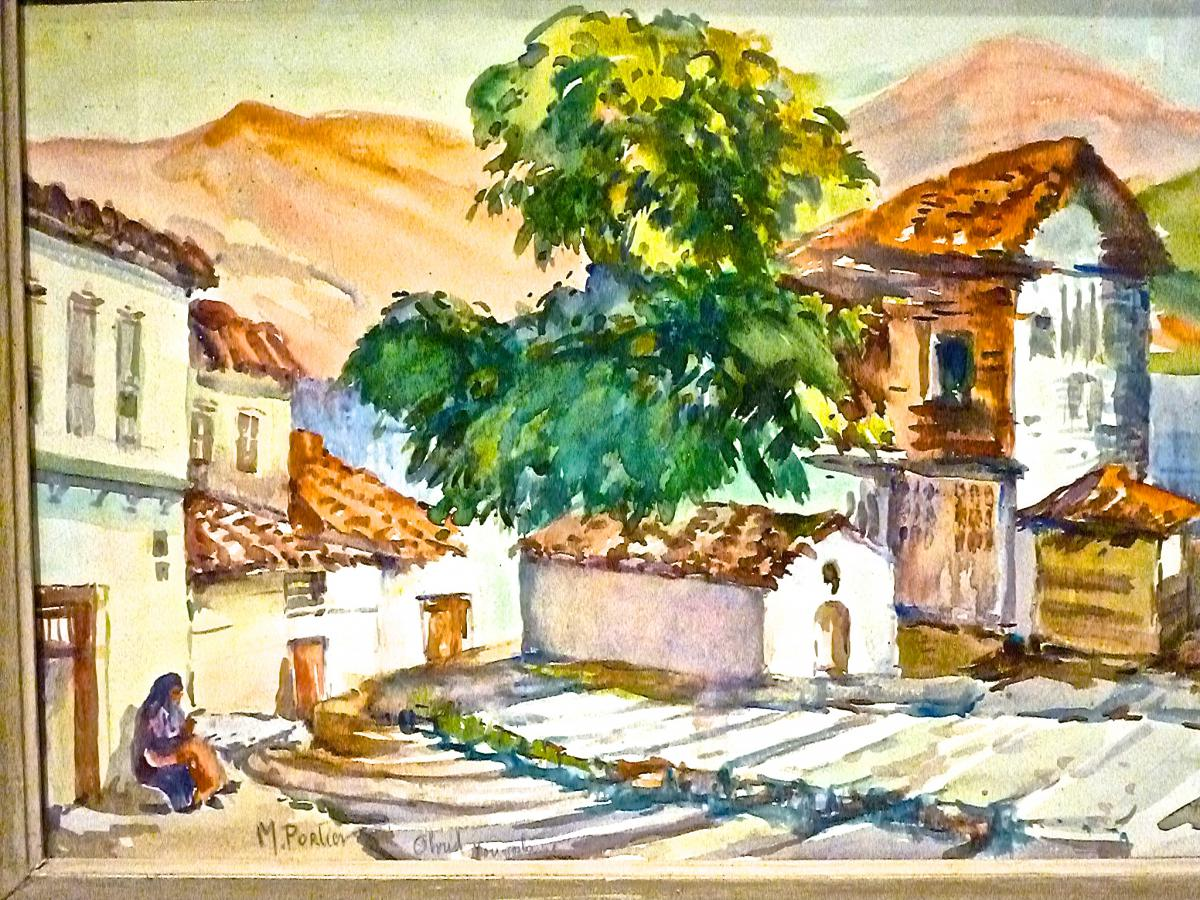 Ohrid Macedonian City By Marguerite Portier-photo-3