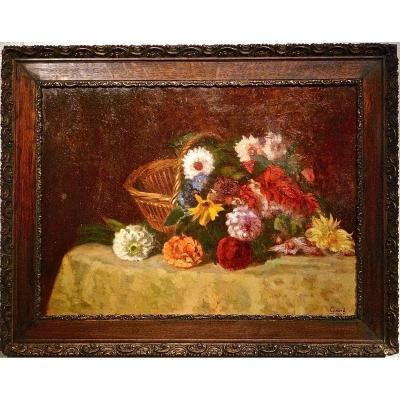 """Les Roses Pompons de la """" Belle Epoque """" par GIRARD en 1905"""
