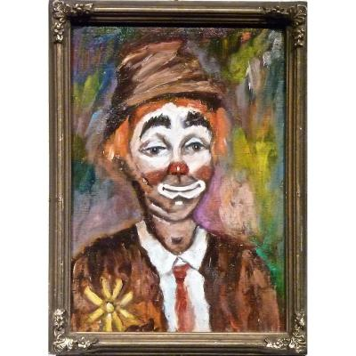Clown Of 1900 - Unsigned