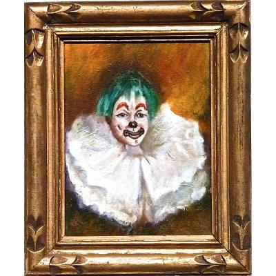 The Clown 1900 - Not Signed
