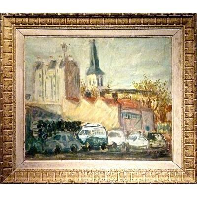 Paul HUBAY (1930-1984) - La rue