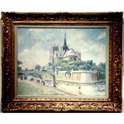 Notre Dame de Paris - Fin 40 - Signature non lue