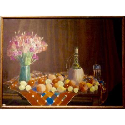 Salade de fruits par Pierre LAROCHE ( 1893-1982)