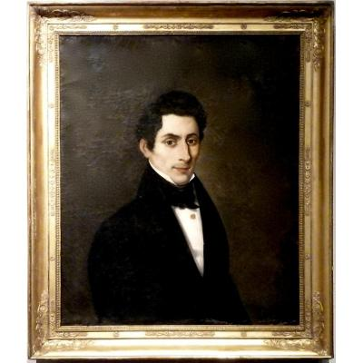 Portrait XIXème - Non signé