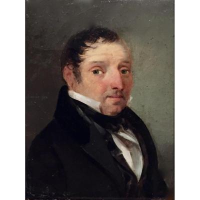 PORTRAIT daté 1831 ou 35 - Signature non lue