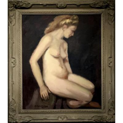 BLONDE en 1947 par VAN DOREN (1901-2001)