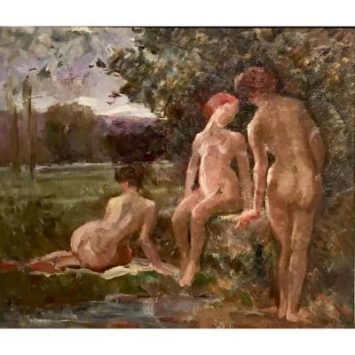 PRES du ROCHER par Jean CHALEYE ( 1878-1960)