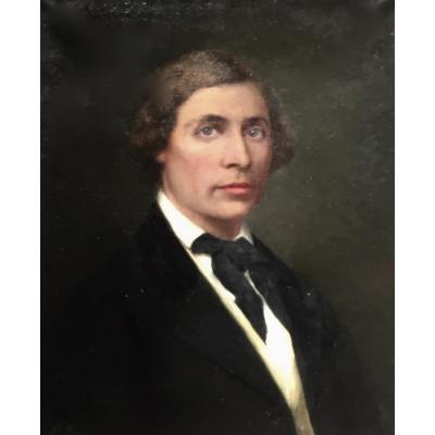 Bel Homme In 1909 By Michel Fronti (1862- XX)